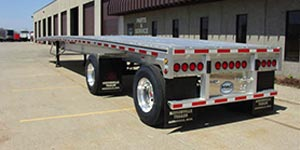 West Michigan Flatbed Trailer